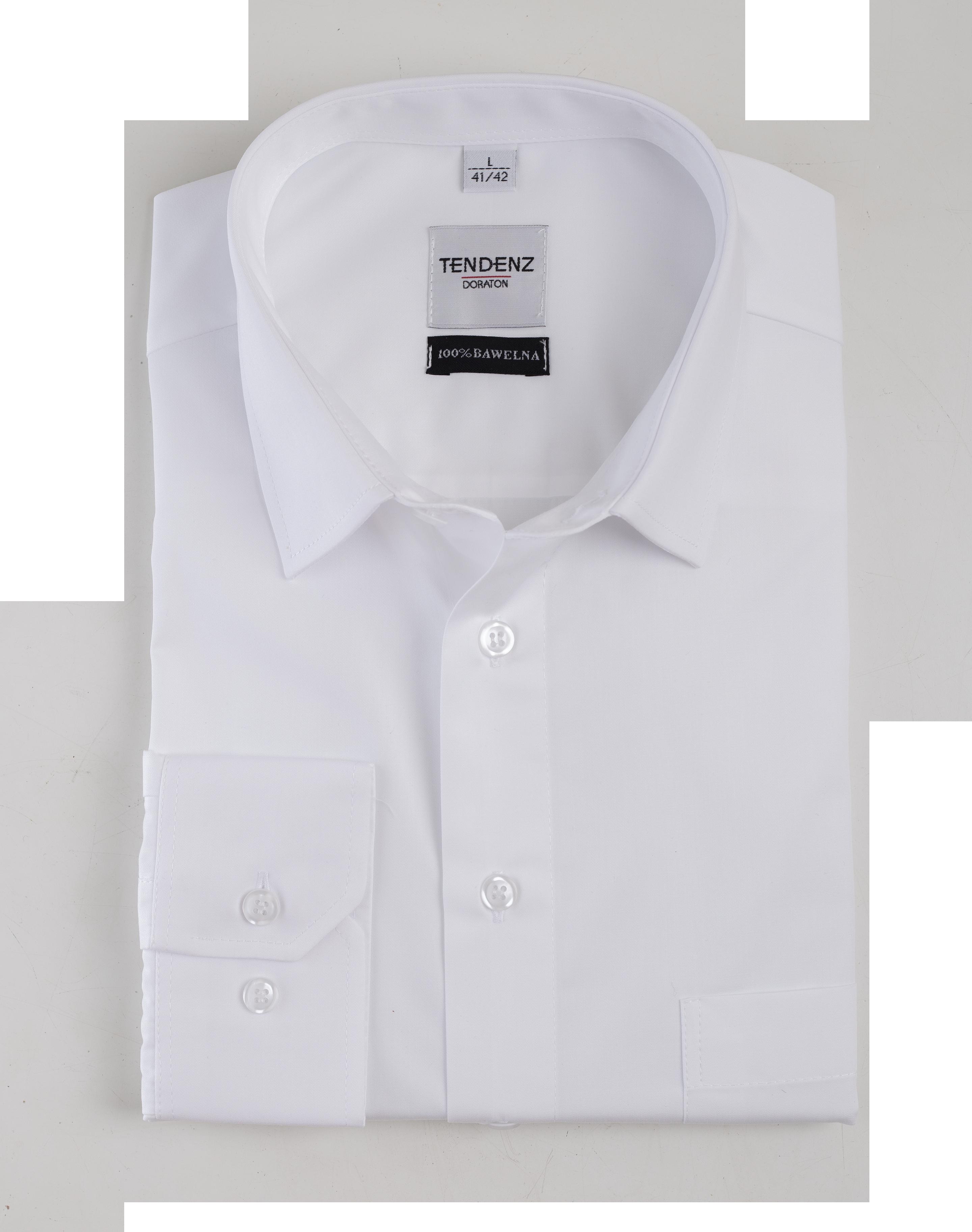 K30 - Koszula męska DORATON slim z długim rękawem