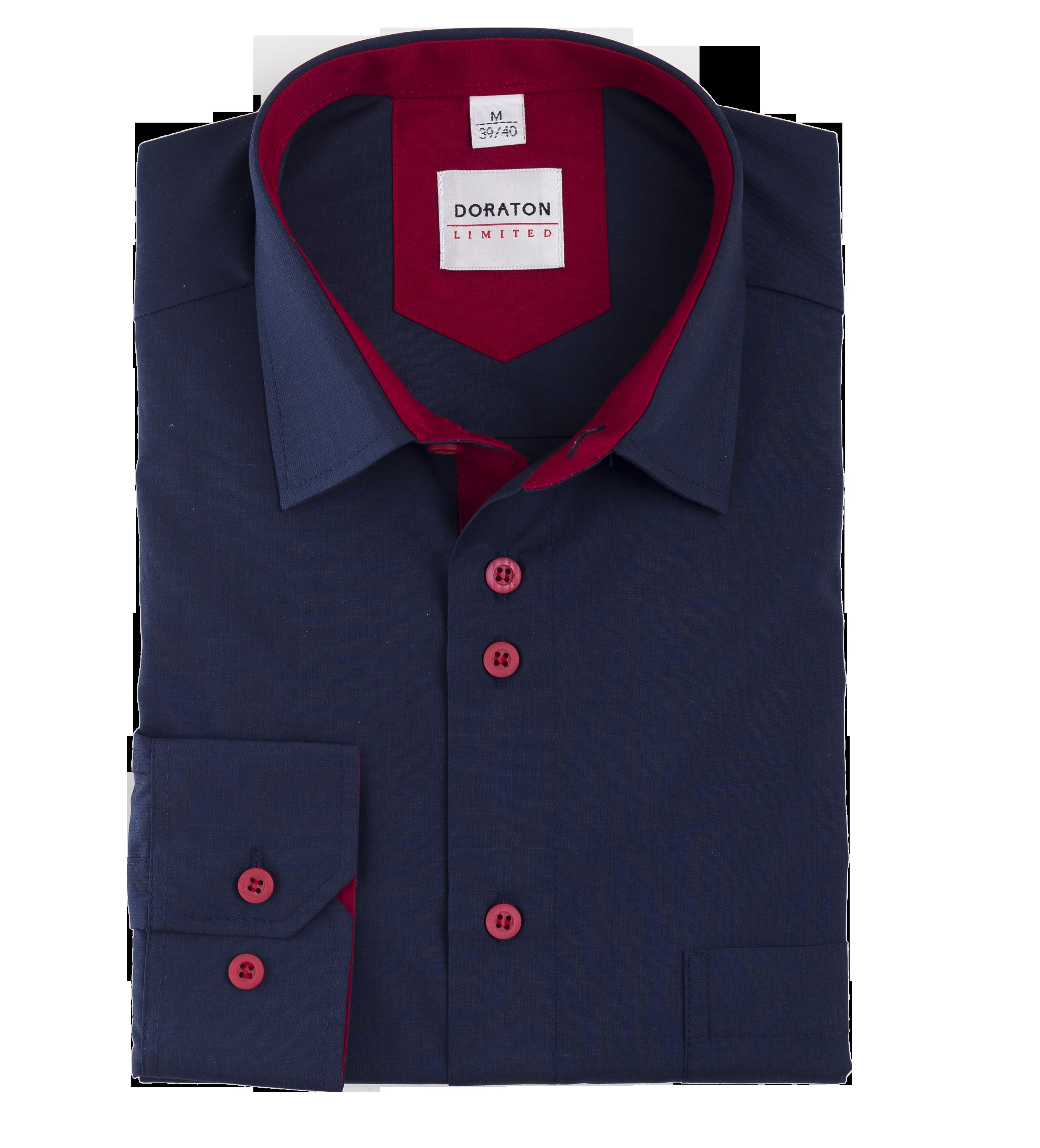 K31 - Koszula męska DORATON slim z długim rękawem
