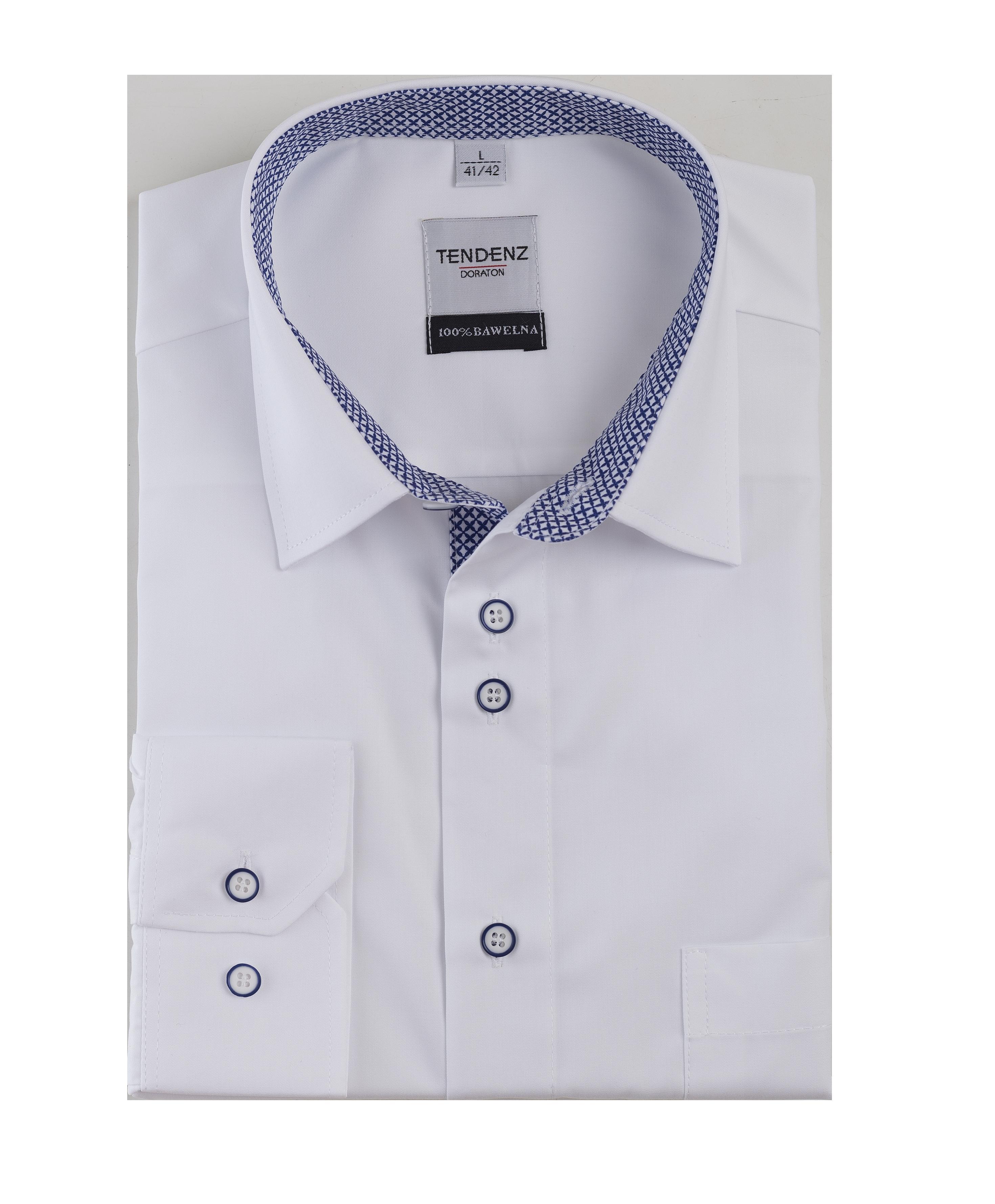 K35 - Koszula męska DORATON slim z długim rękawem